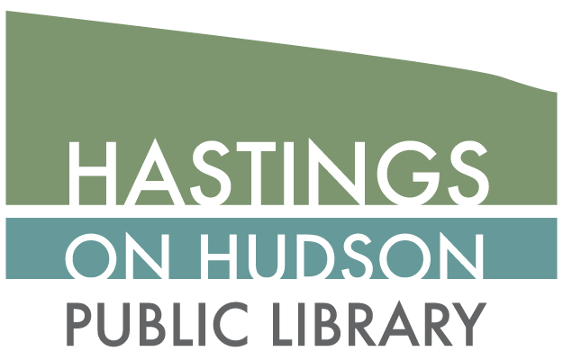 Hastings on hudson library logo